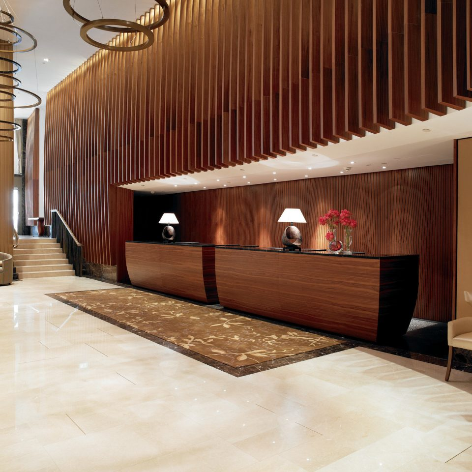 Lobby flooring Architecture hardwood wood flooring laminate flooring stairs interior designer hall