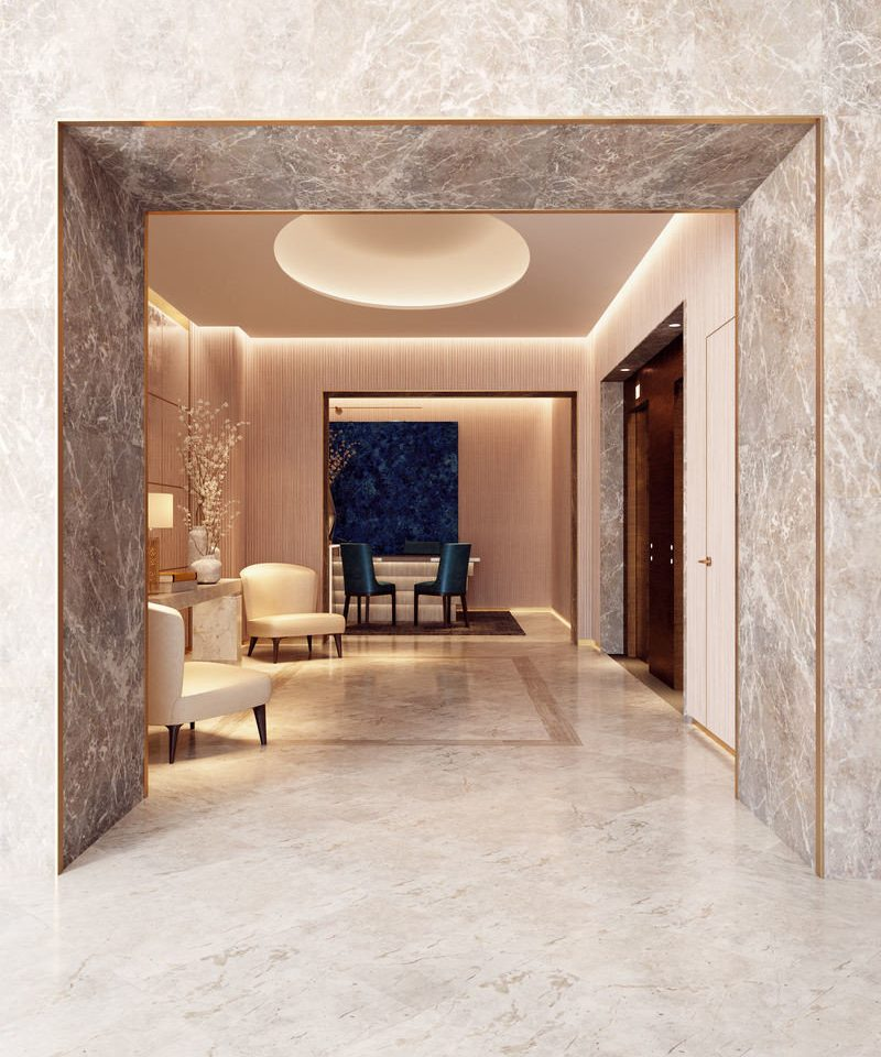 property Architecture living room flooring home Lobby tile stone