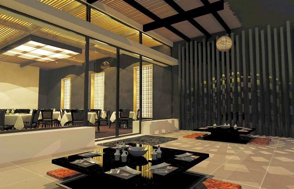 Lobby Architecture lighting living room flooring restaurant