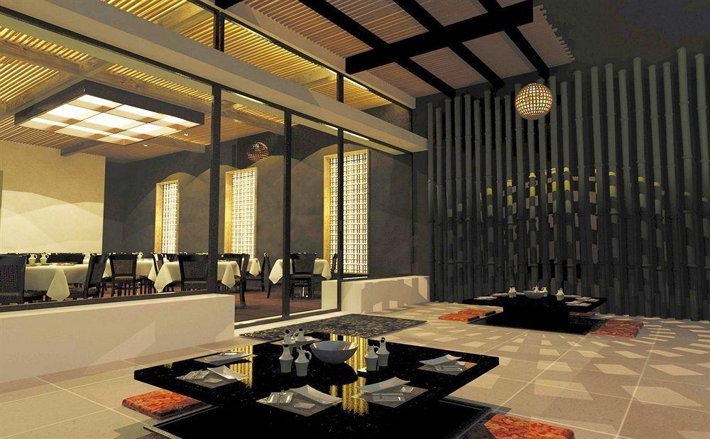 Lobby Architecture lighting living room flooring restaurant