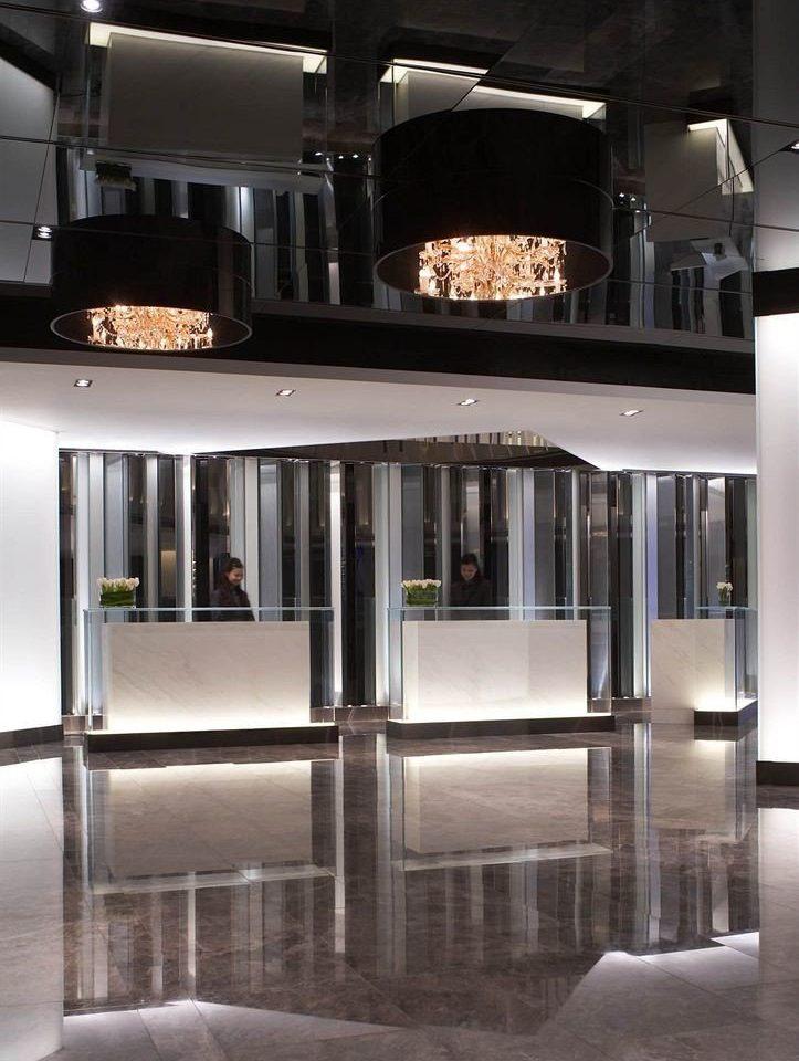 Lobby Architecture lighting glass steel