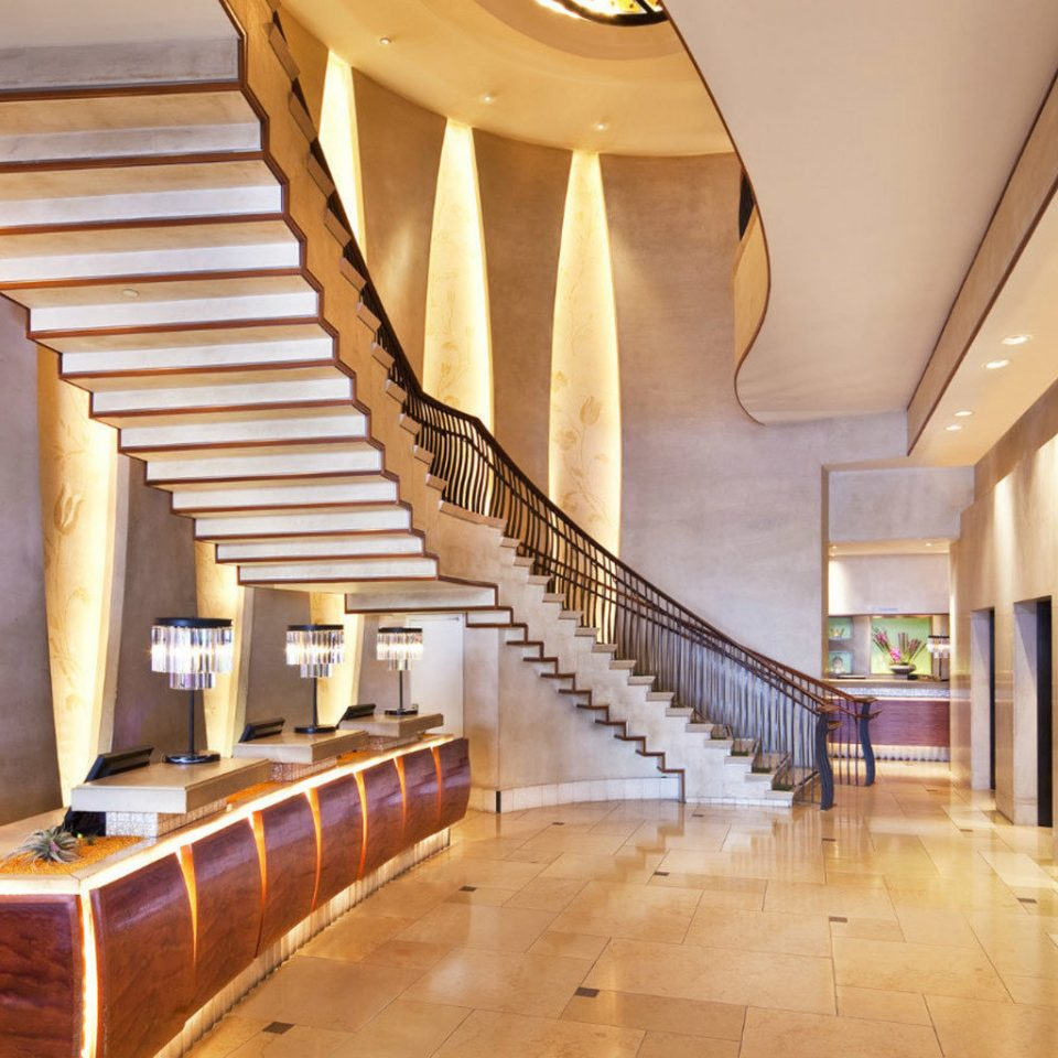 Lobby property stairs Architecture wooden home hall