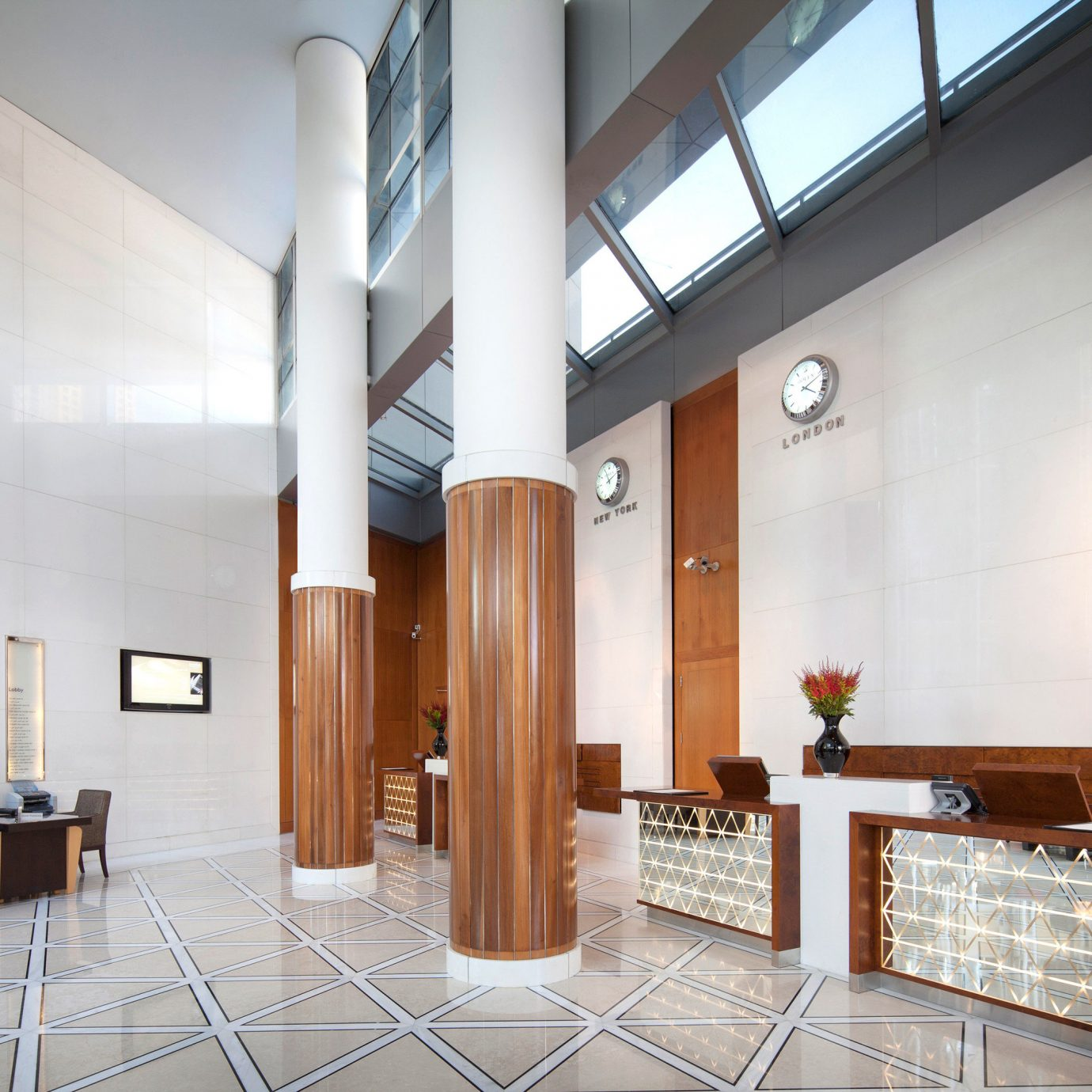 property Architecture lighting home Lobby hall loft