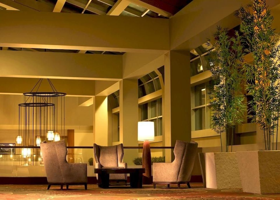 Lobby house Architecture home lighting living room