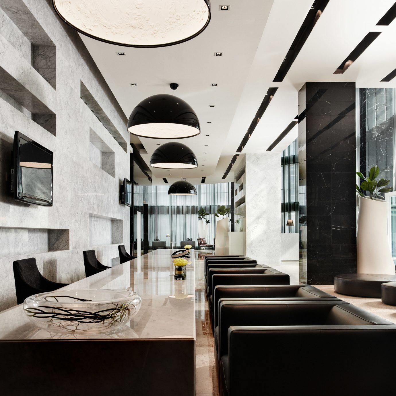 Lobby Architecture lighting restaurant living room