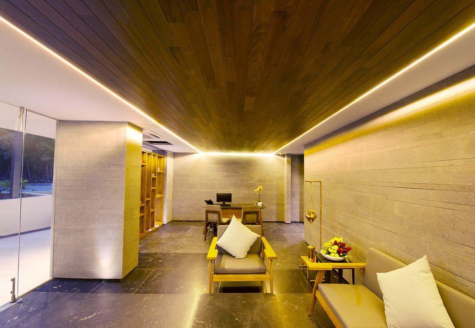 yellow Architecture lighting Lobby