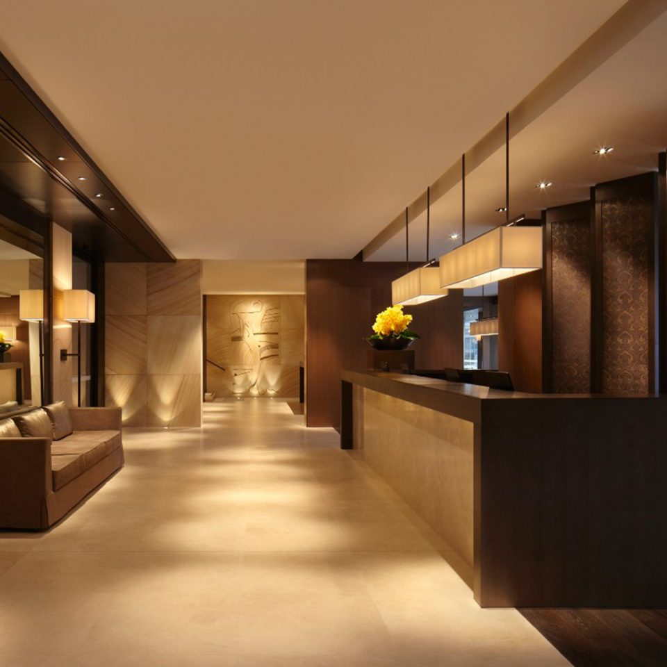 Lobby Lounge Luxury Modern property Architecture lighting Suite