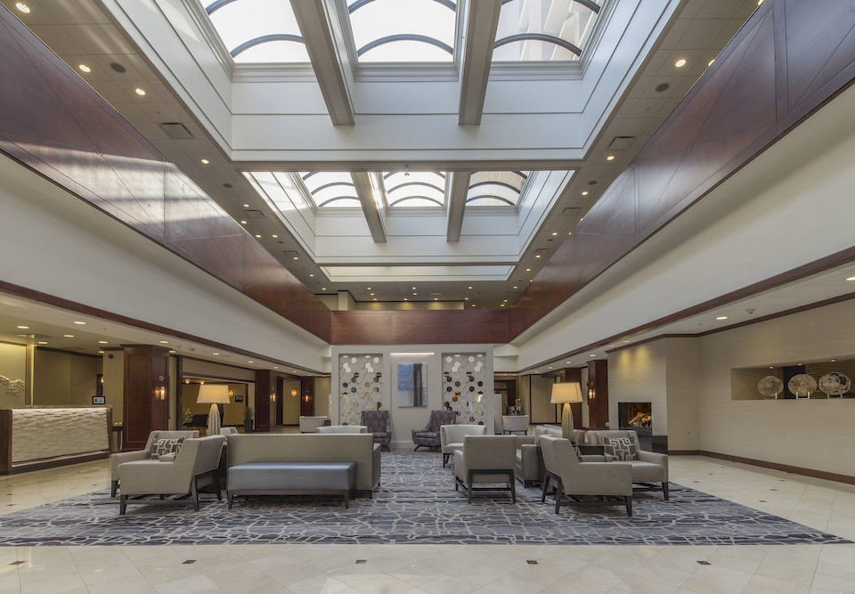 Lounge Modern property Lobby Architecture auditorium daylighting convention center headquarters hall conference hall