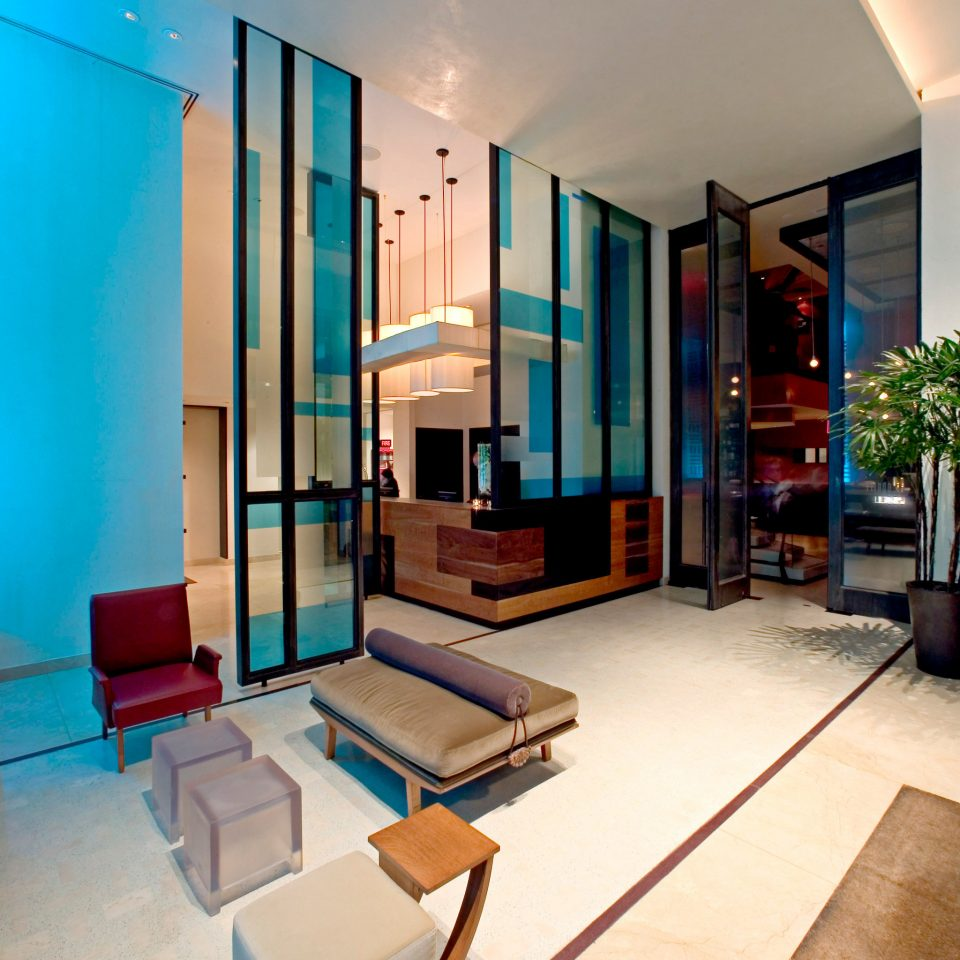 Lobby Lounge Modern property condominium Architecture living room Suite professional