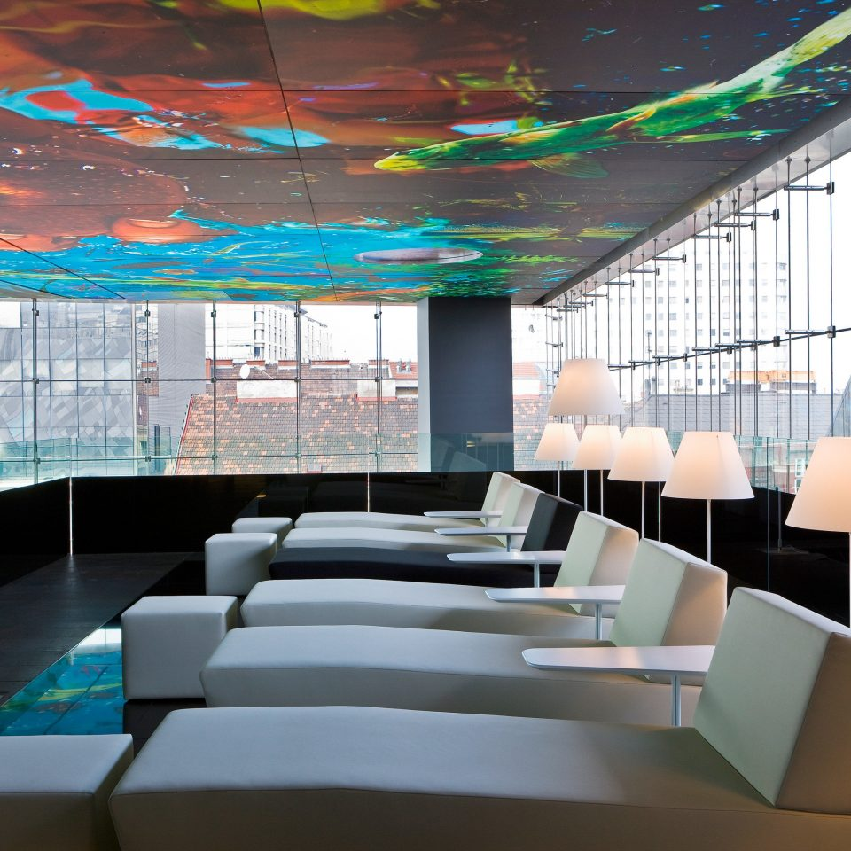 Lounge Modern Resort Architecture headquarters conference hall convention center Lobby glass