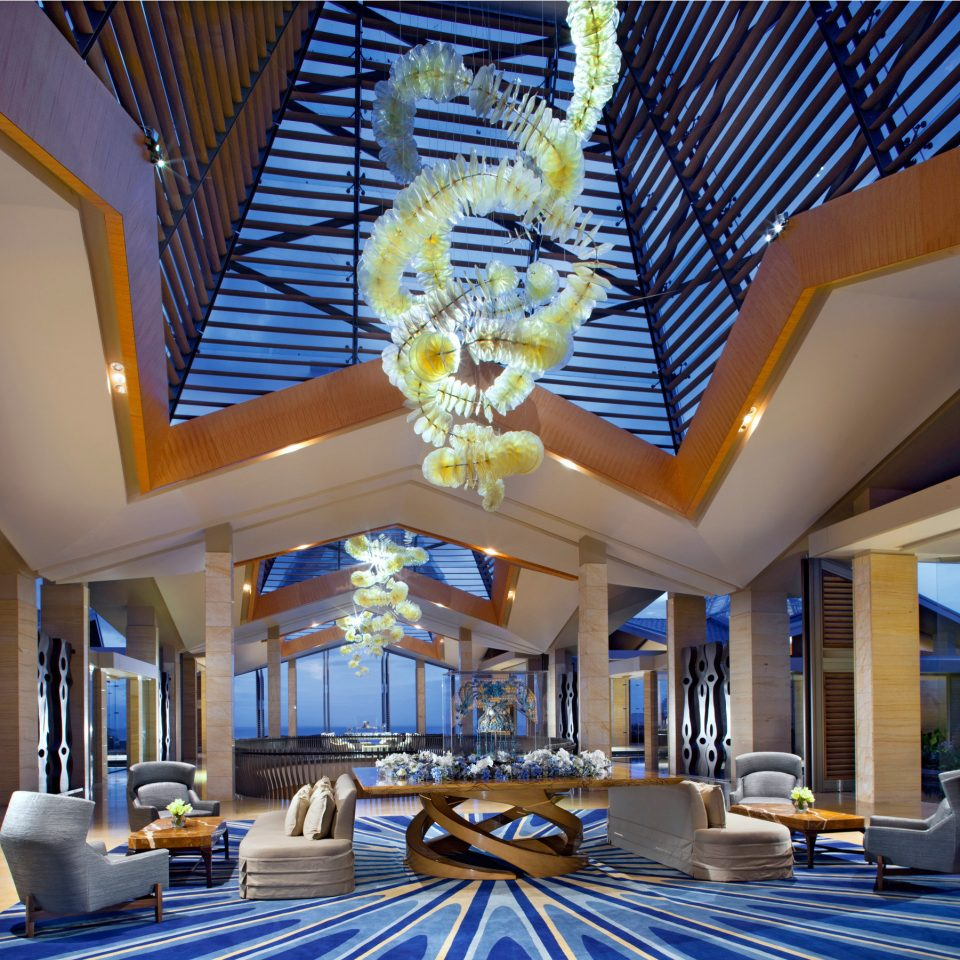 Lobby Lounge property Resort Architecture condominium daylighting home swimming pool mansion convention center