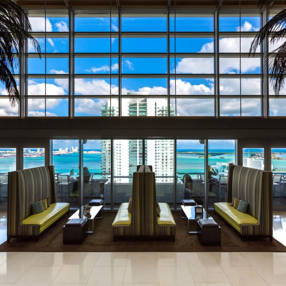 Lobby Lounge Scenic views Waterfront building Architecture library headquarters public library shopping mall condominium retail plaza
