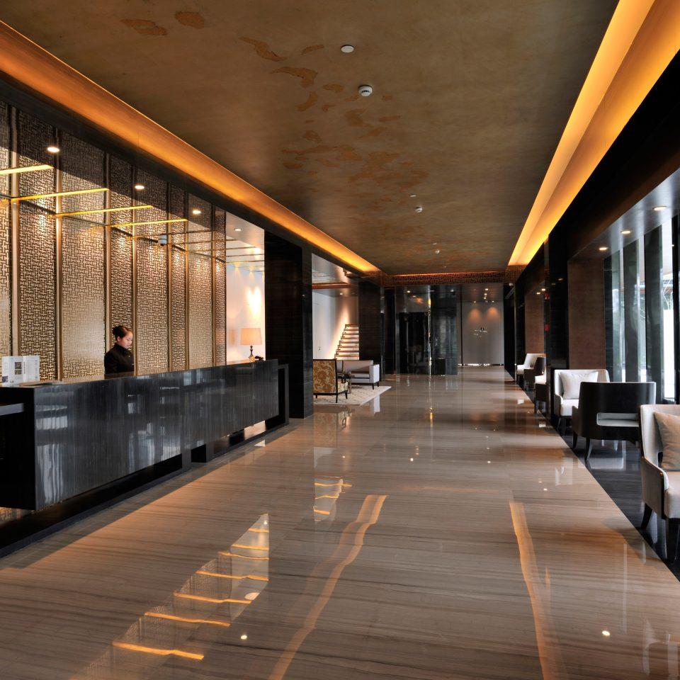 Lobby Architecture lighting headquarters hall auditorium convention center professional tourist attraction Modern