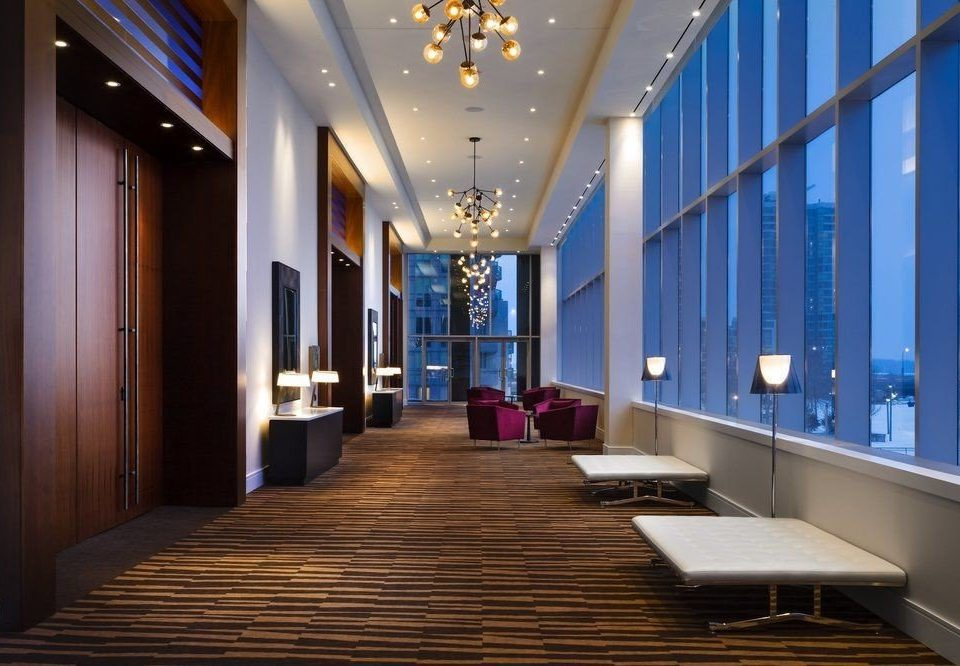 Lobby building Architecture hall lighting auditorium convention center headquarters function hall conference hall ballroom Modern