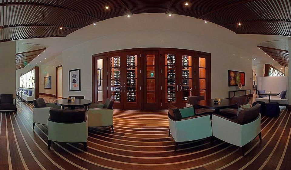 chair Lobby building Architecture library auditorium conference hall convention center tourist attraction theatre Modern leather