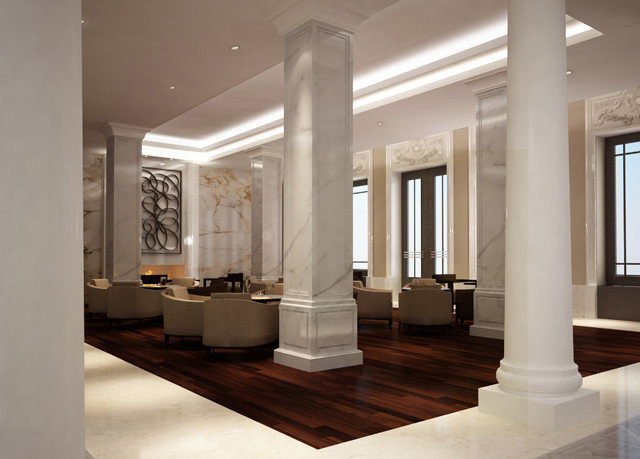 building structure Lobby Architecture lighting daylighting column living room tourist attraction hall Modern colonnade