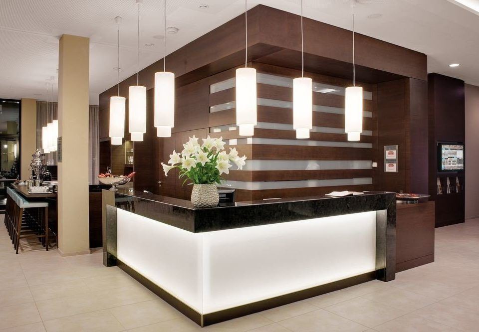 Lobby Architecture receptionist professional home living room cabinetry Modern headquarters