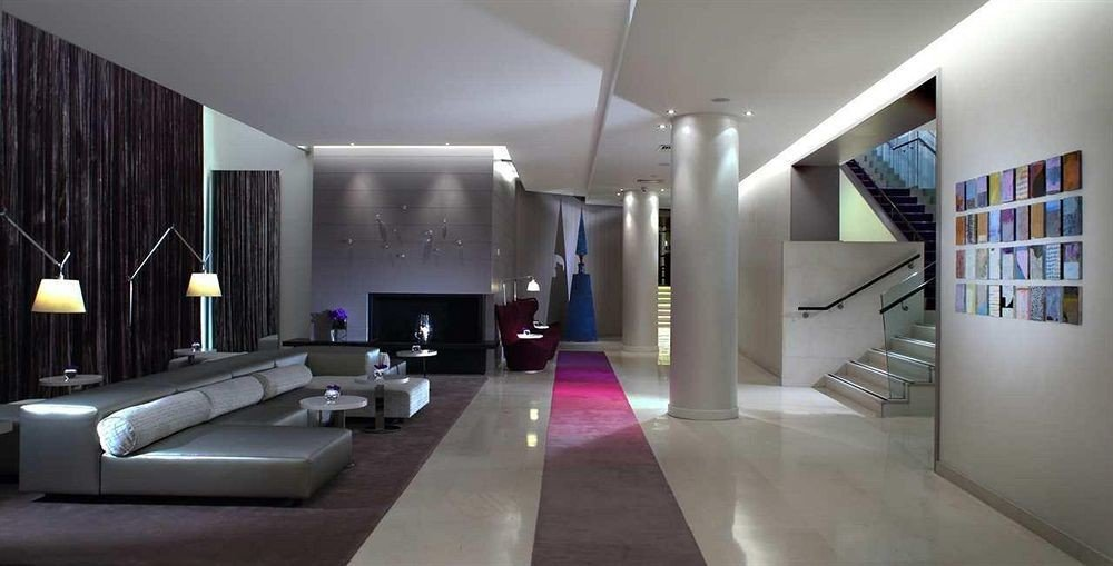 property Lobby Architecture living room condominium lighting loft Modern