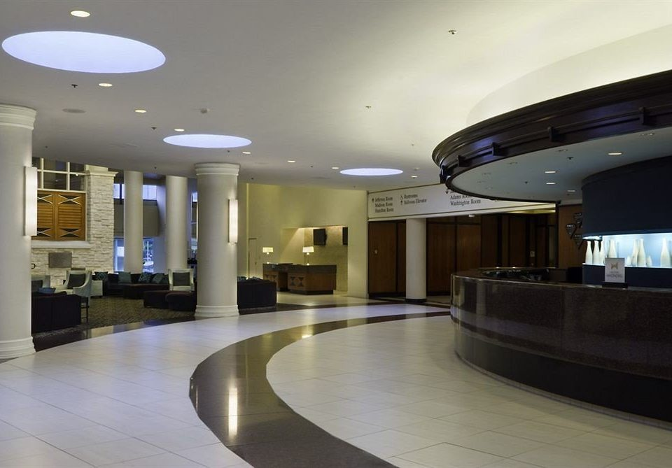 Lobby Architecture daylighting lighting headquarters convention center conference hall Modern