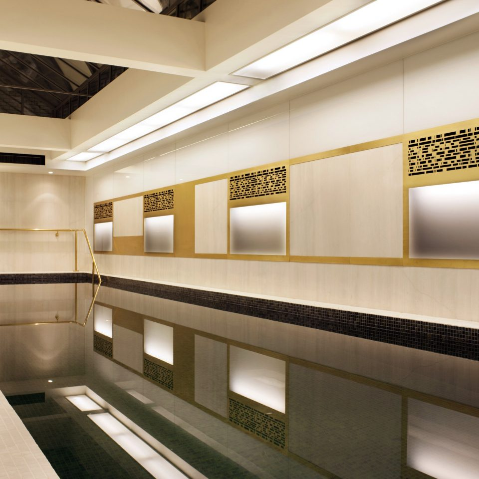 Modern Pool Architecture Lobby lighting headquarters auditorium public transport step