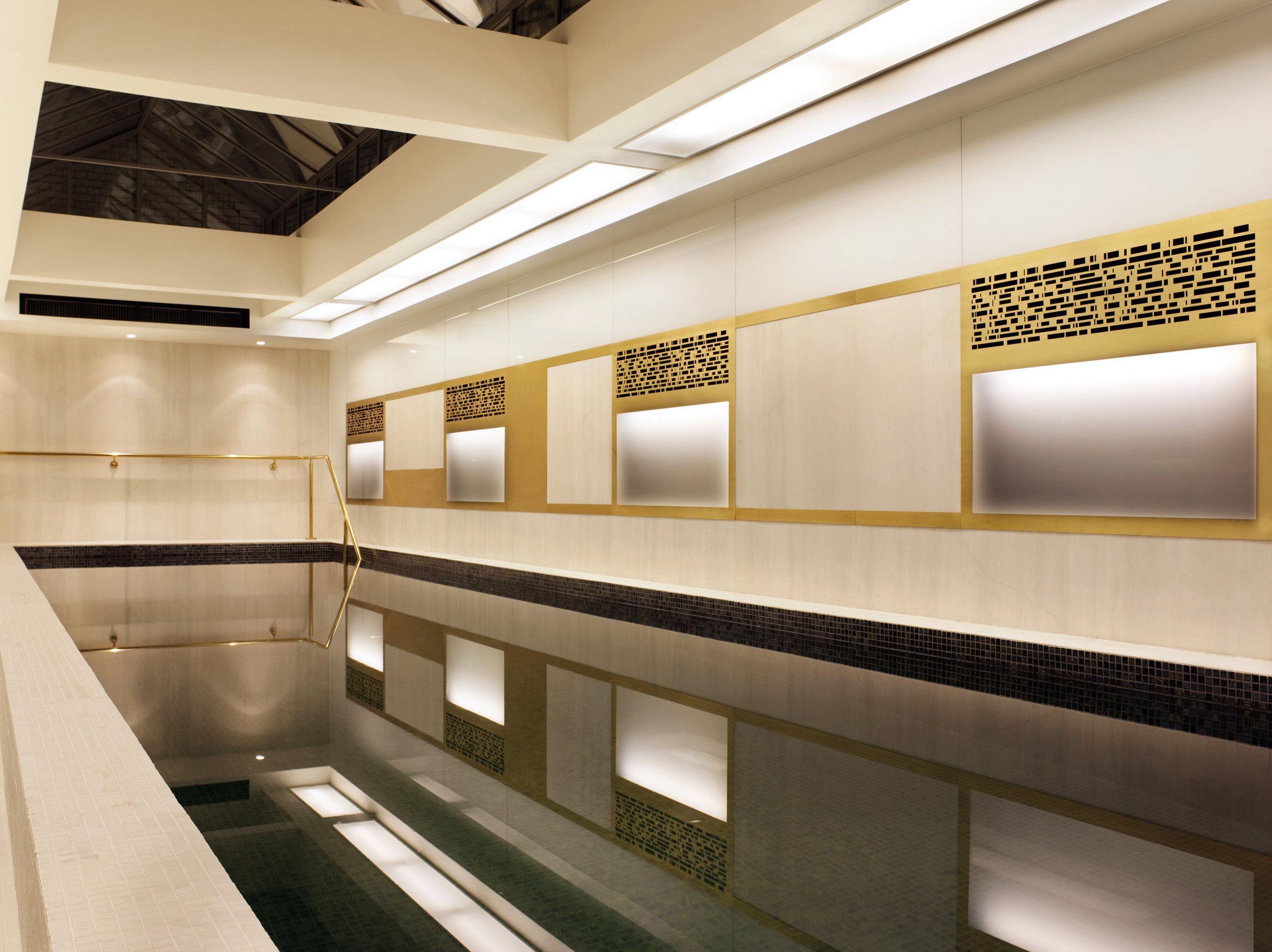 Modern Pool Architecture Lobby lighting headquarters auditorium public transport step