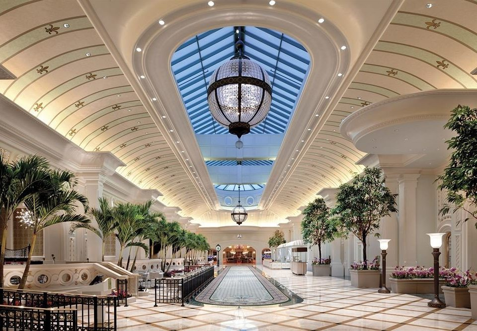 Lobby building Architecture plaza shopping mall convention center daylighting Resort function hall palace arch mansion colonnade