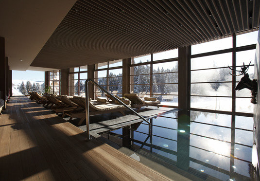 building property Architecture condominium daylighting professional headquarters Resort Lobby