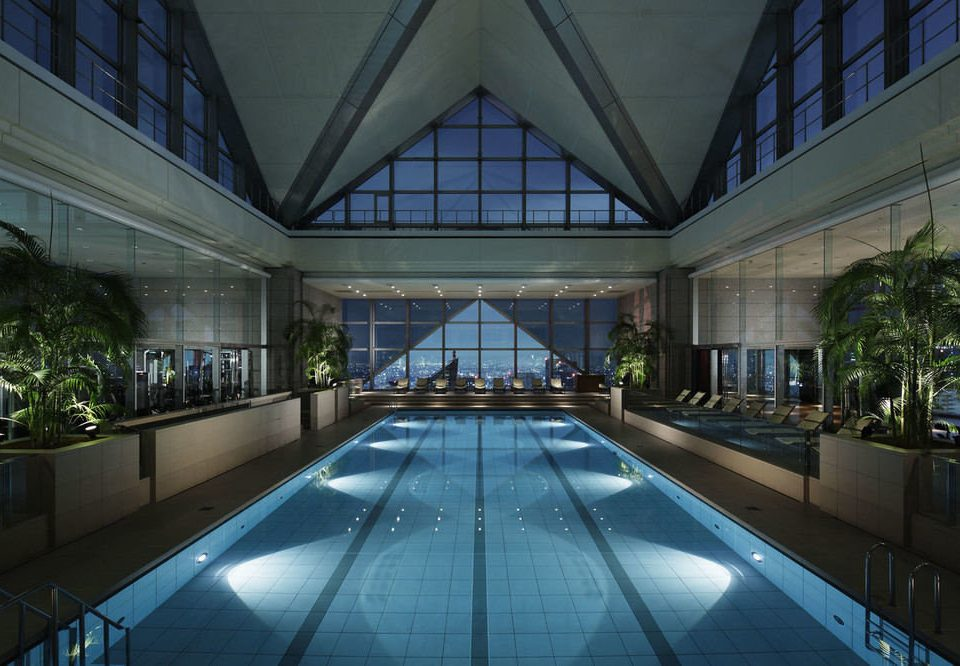 swimming pool building Architecture leisure centre Resort Lobby convention center screenshot headquarters mansion condominium