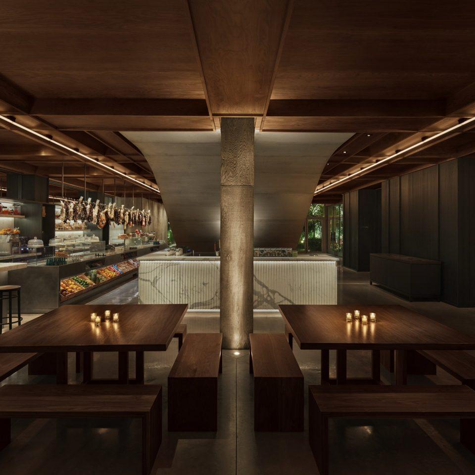 Architecture Lobby restaurant