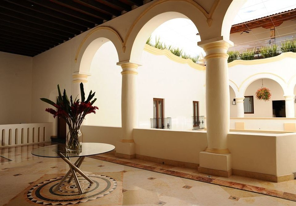 property building Architecture arch mansion Villa home baluster hacienda living room Lobby colonnade