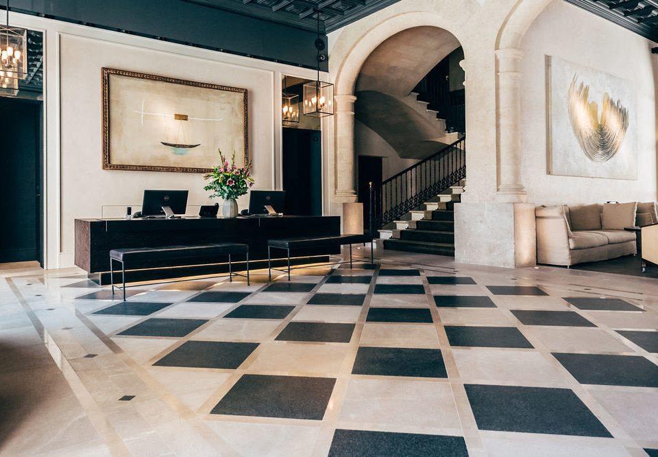 building property flooring Architecture black home living room Lobby tile mansion wood flooring Villa rug stone tiled
