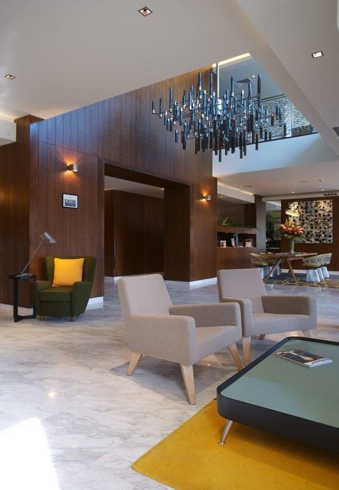 Lobby property living room Architecture home lighting condominium Villa