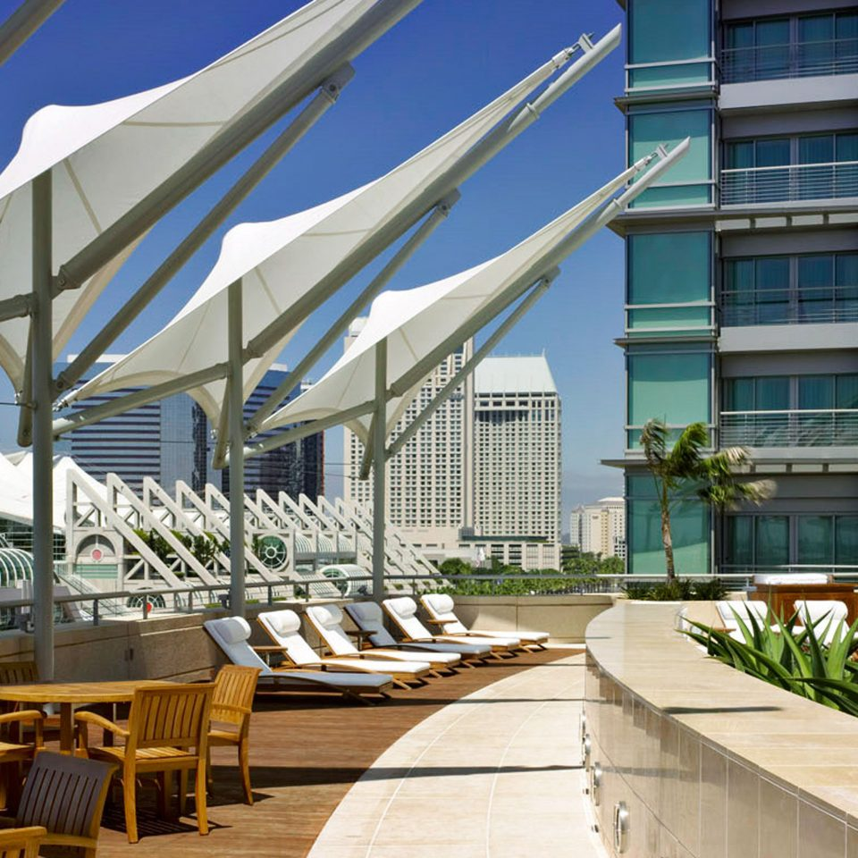 Lounge Luxury Modern Scenic views building Architecture condominium Resort plaza convention center walkway