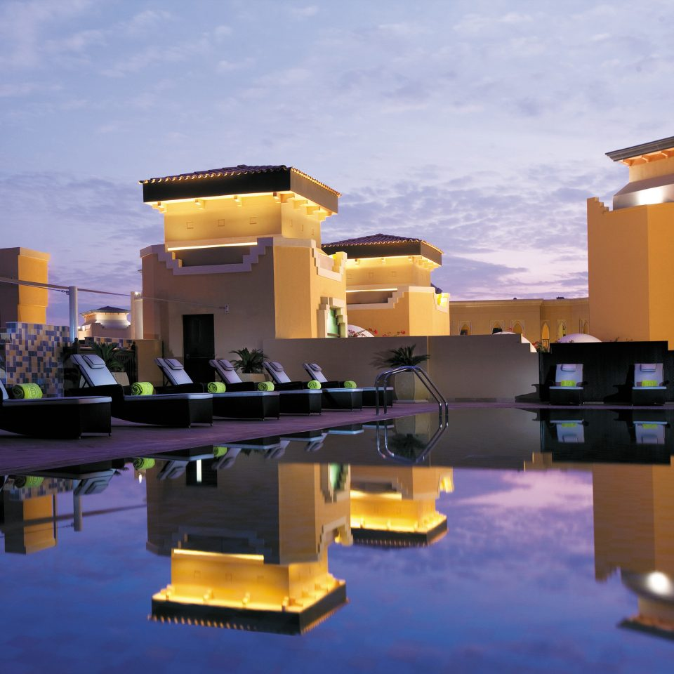 Lounge Modern Patio Pool sky house Architecture home lighting screenshot Villa