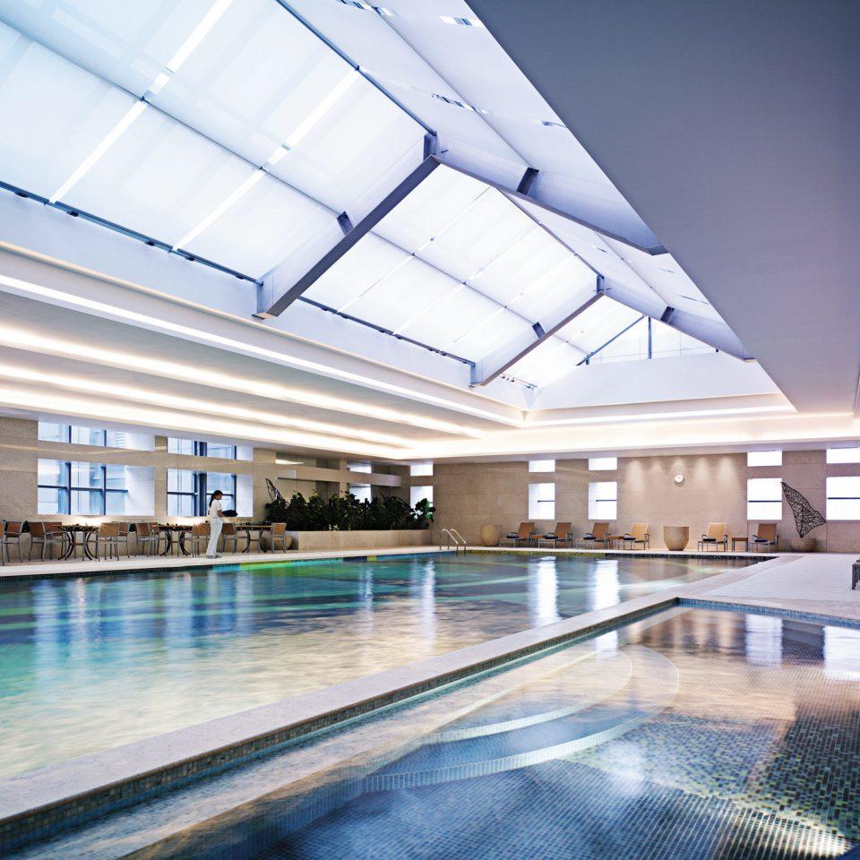 Luxury Modern Pool swimming pool leisure Architecture leisure centre daylighting headquarters lighting convention center plaza Resort
