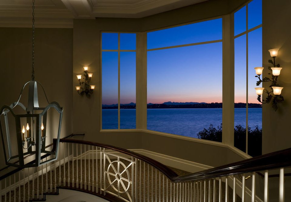 property house home overlooking Architecture Ocean lighting daylighting living room condominium Villa mansion porch