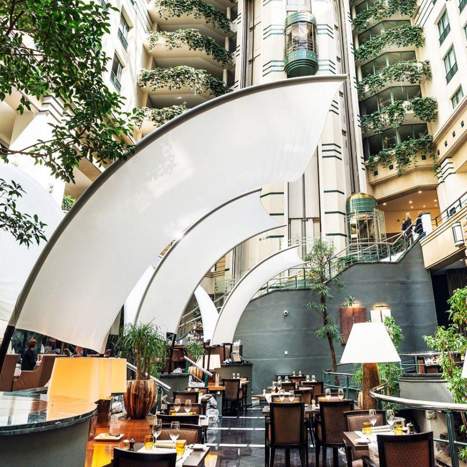 Architecture restaurant plaza shopping mall