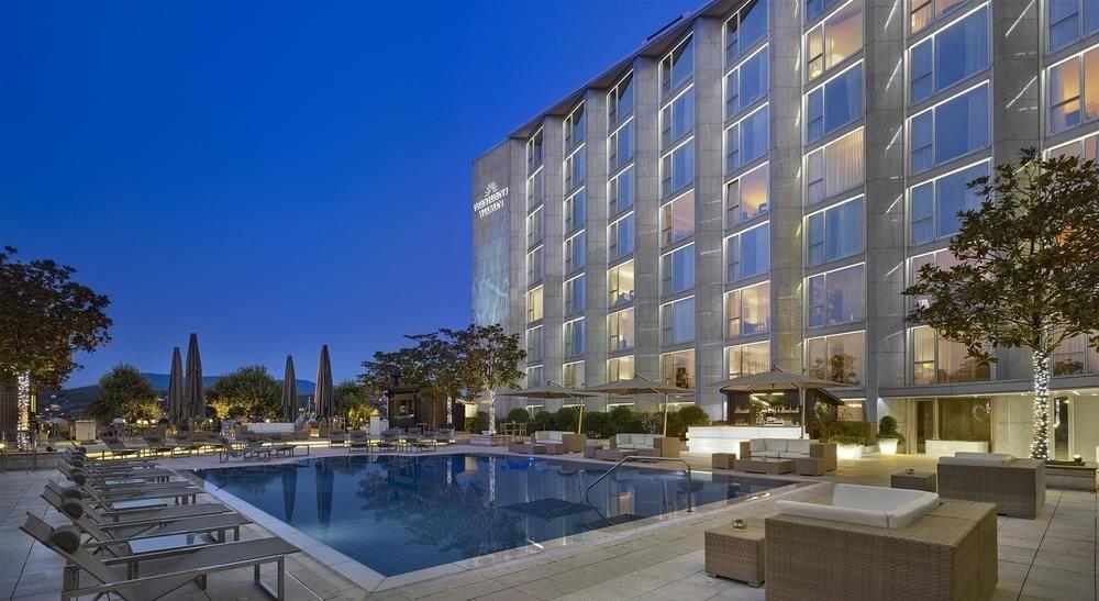 building condominium property plaza Architecture apartment building Resort residential area headquarters tower block