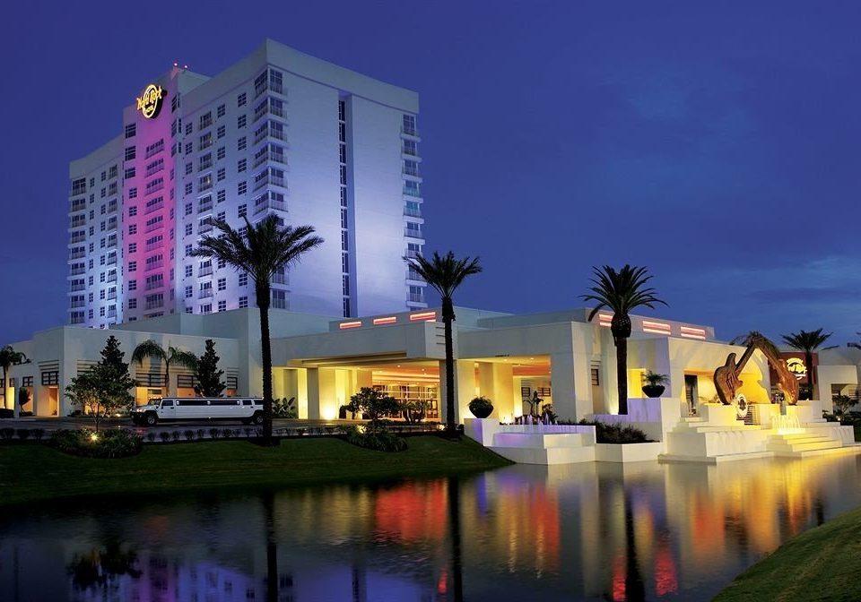 sky landmark night building house Architecture cityscape evening Resort dusk plaza tower block