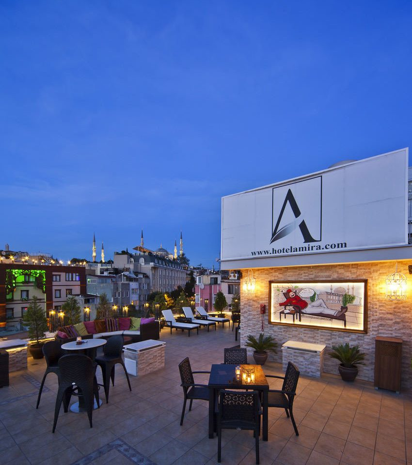 sky Architecture Resort plaza evening restaurant