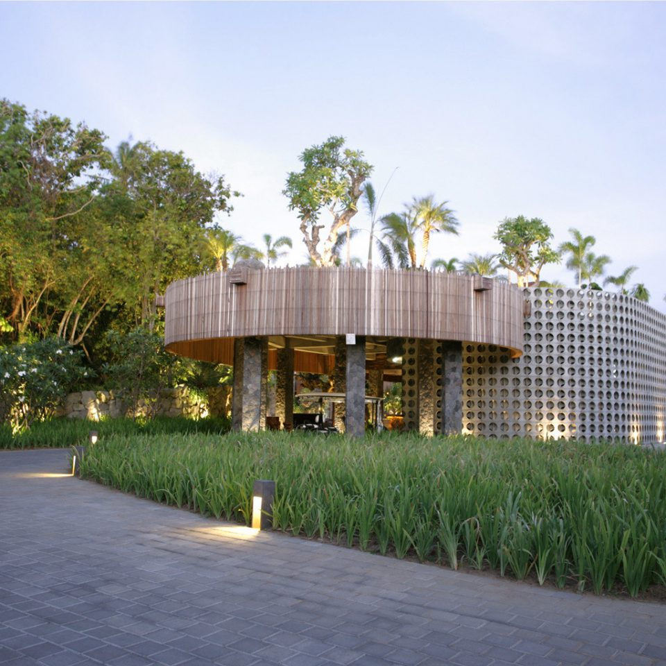 tree sky grass house residential area neighbourhood Architecture home pavilion Resort stone