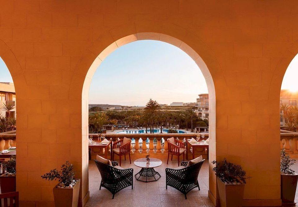 building Architecture arch hacienda Resort palace Villa restaurant mansion orange colonnade
