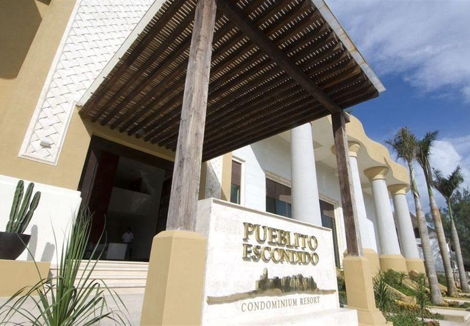 property building Architecture home Resort Villa plant