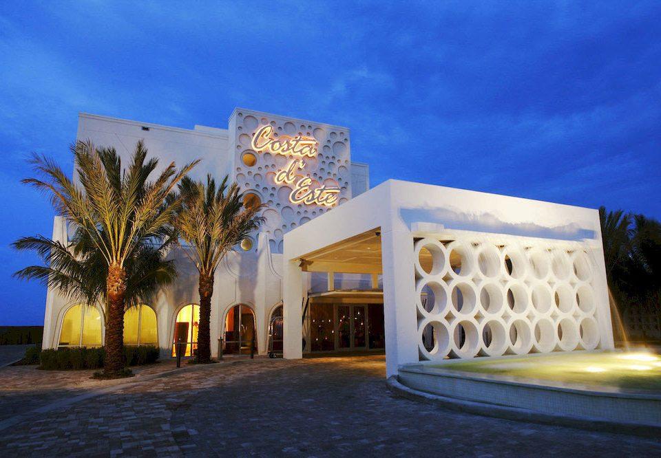 sky landmark house Architecture Resort home hacienda Villa palace mansion