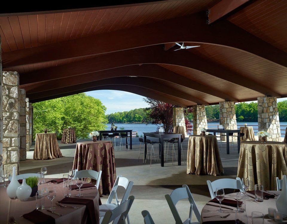restaurant Architecture Resort home Villa