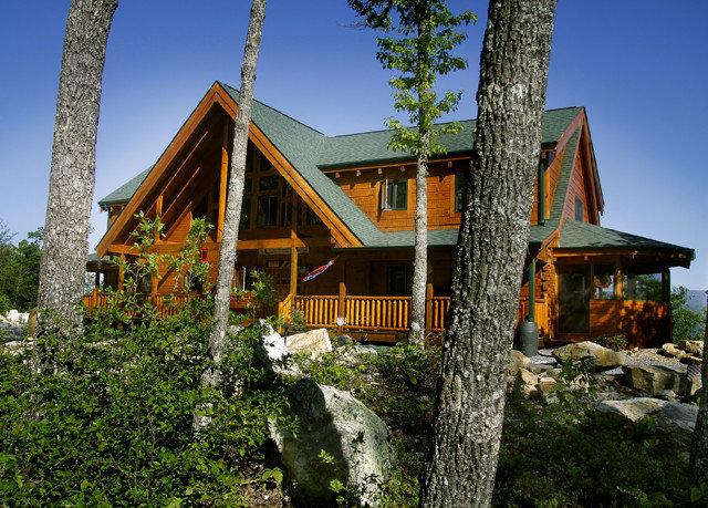 tree sky house building home Architecture Resort cottage log cabin Village Villa hut old