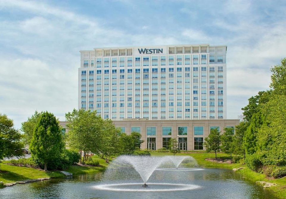 water tree River landmark building tower block Architecture headquarters condominium campus