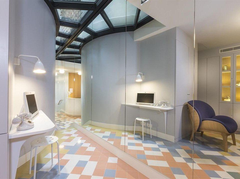 property building Architecture living room home loft Suite condominium Villa tiled tile