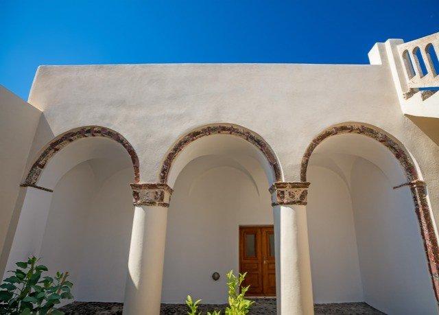 arch building structure property Architecture column baluster Villa hacienda colonnade