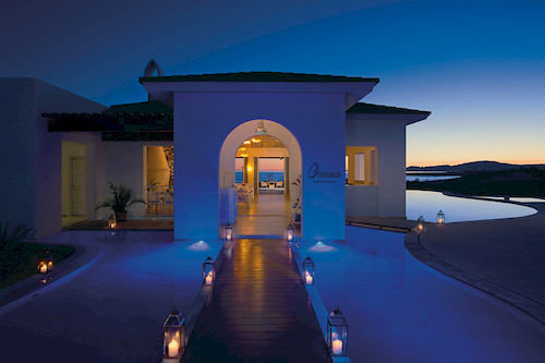 sky blue house Architecture evening lighting home Villa mansion screenshot swimming pool dusk
